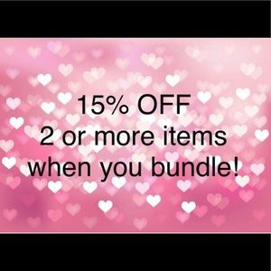 Other - 15% off 2 or more items